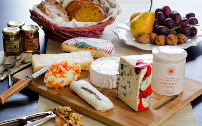 o queijos como sobremesa