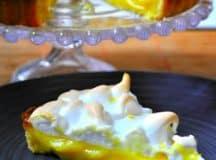 Torta de limão Eu como sim