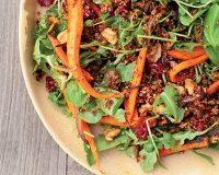salada quinoa cenoura