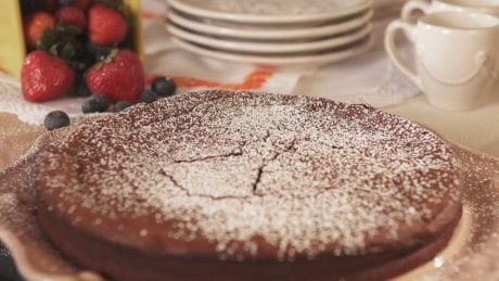 307- Nana Jose's Flourless Chocolate Pecan Cake