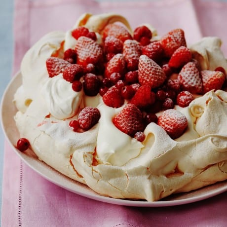 Strawberry-and-raspberry-Pavlova-web