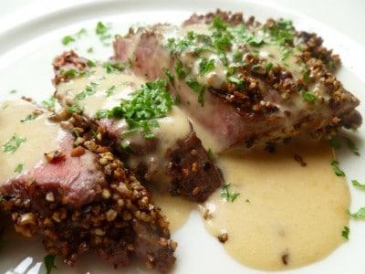 steak au poivre clássico