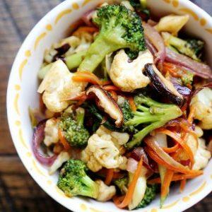 Stir Fry de Vegetais (vegetais na wok, a melhor receita)