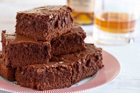 Brownies com wisky