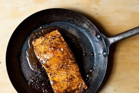 salmão agri doce