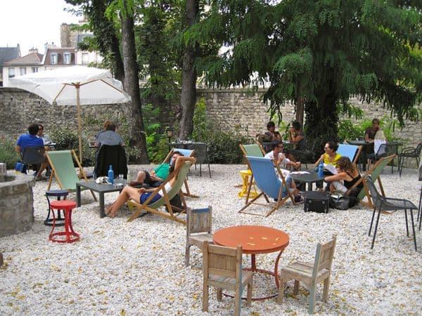 Café A paris, verão