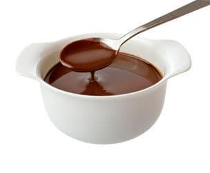 calda de chocolate para sorvete