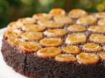 Bolo Chocolate-Caramelo-Banana