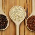 10 Aug 2009 --- Quinoa, black, white and red / (Chenopodium quinoa) --- Image by © Pfeiffer, J./Corbis