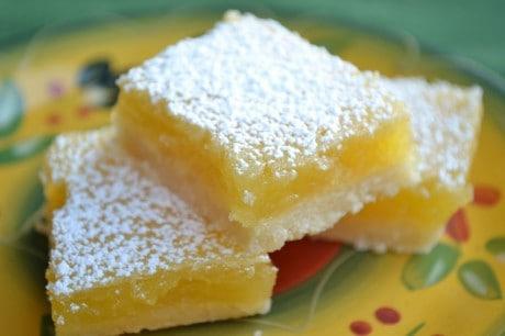 lemon bar receita
