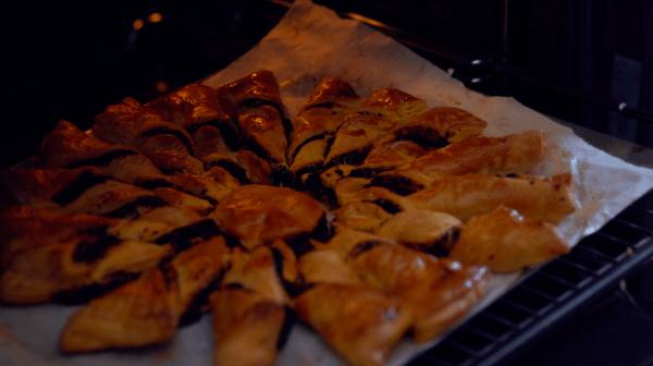 tarte de soleil forno