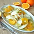 salada de laranja e erva doce