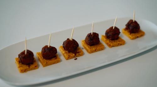 canapé de foie gras