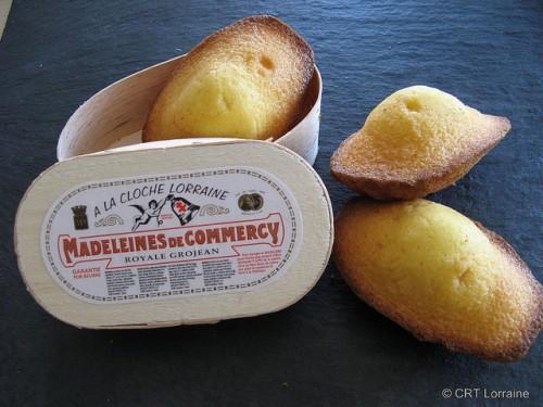 madeleines tradicionais
