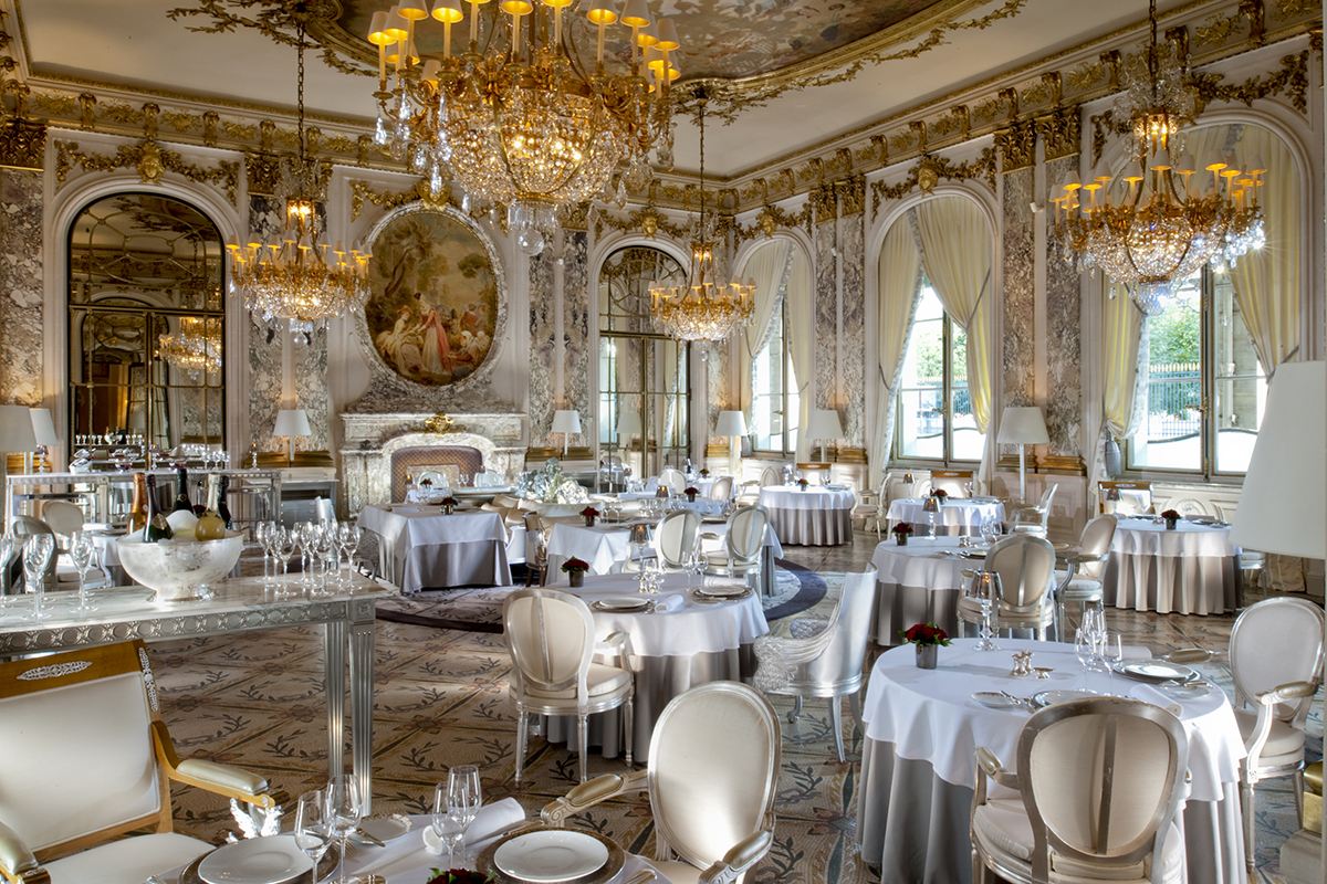 Restaurant Louis Xv Paris