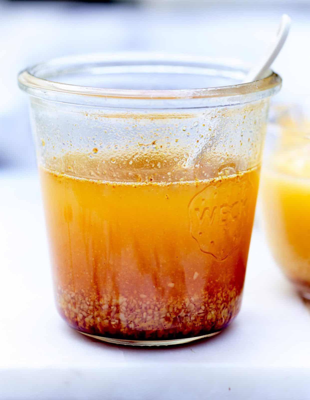 Sauce-beurre-safran-miel-et-pistaches