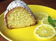 Bolo de Limão delicioso (Receita Italiana)