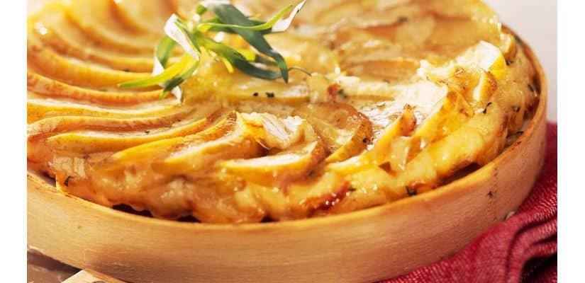 torta maca batata camembert