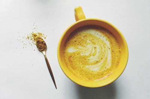 turmeric+latte+and+spoon
