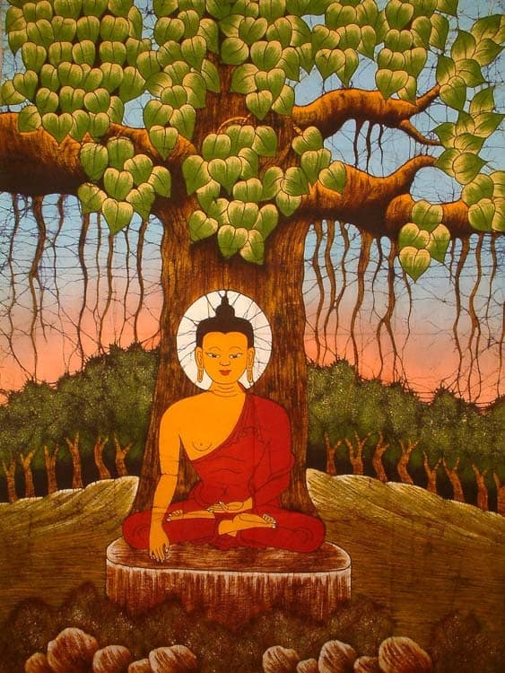 Buddha-under-Tree