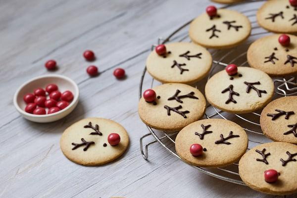 biscoitos de natal feito em casa