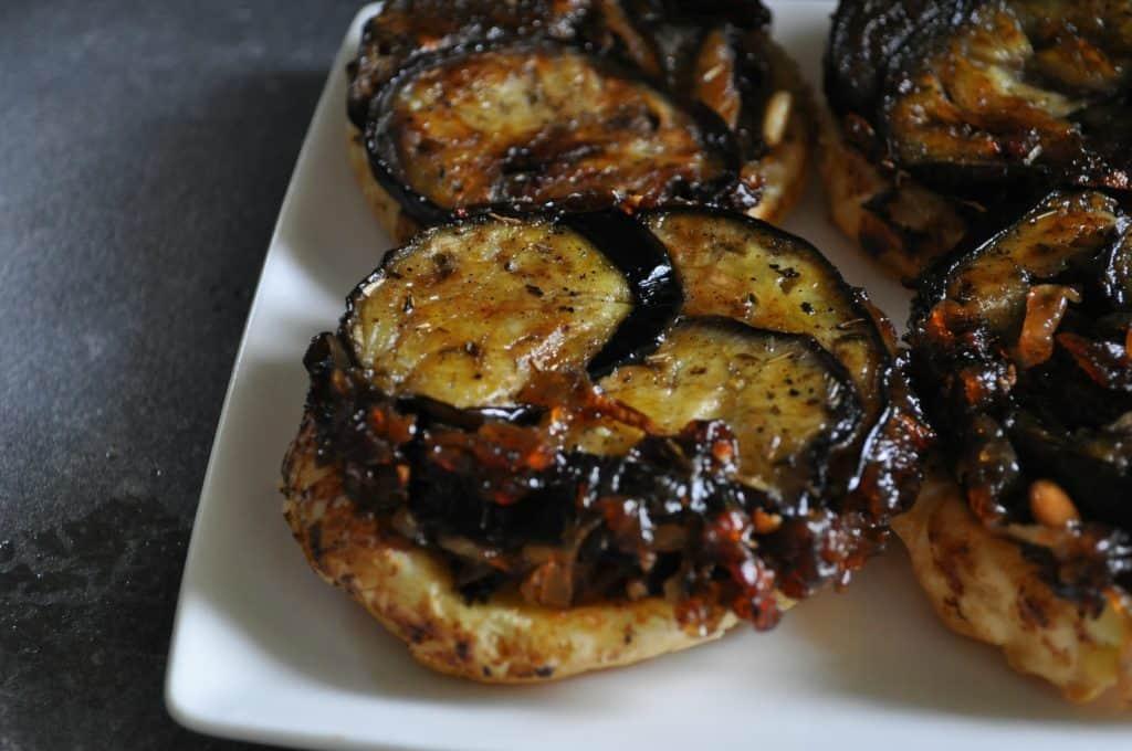tarte tartine de beringela