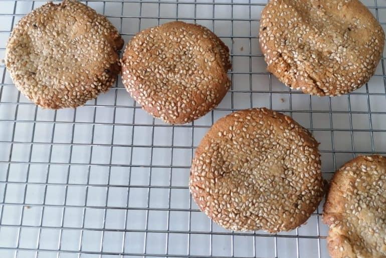 cookies de tahine