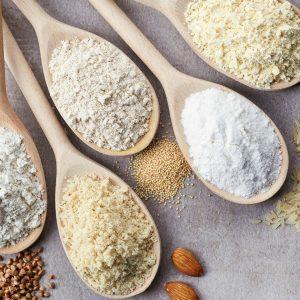 Tabela de substituições de farinhas