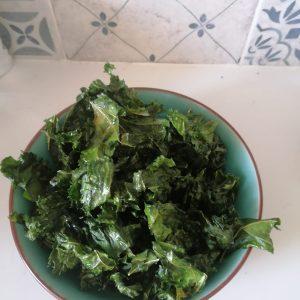 Chips de Kale, receita fácil crocante e viciante