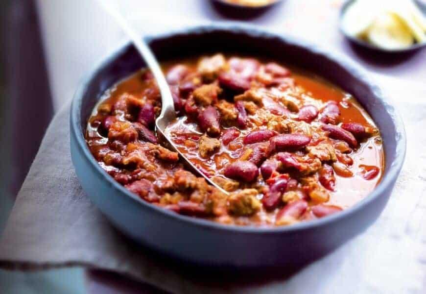 Chili con Carne, a melhor receita, passo a passo