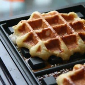 Waffles Lìege, o melhor waffle de sua vida