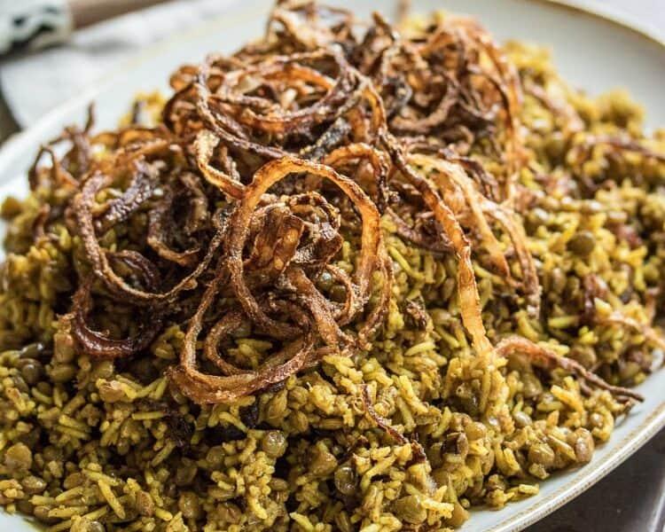 Receita de Mjadra, a melhor receita deste delicioso prato